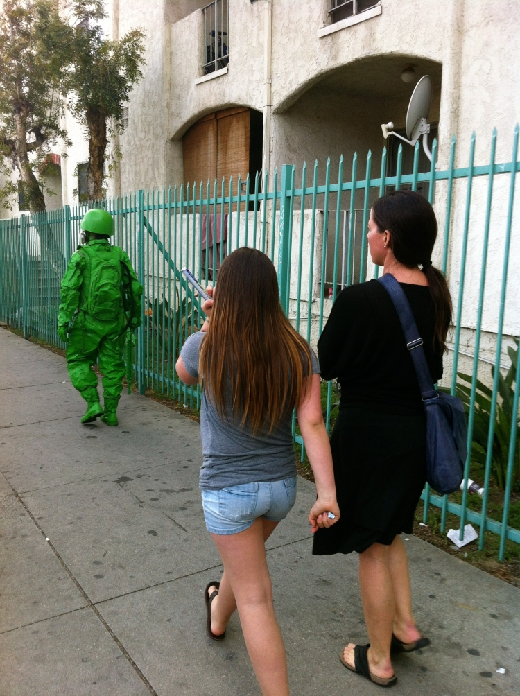 Stalking the green man