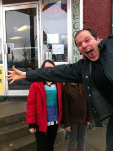photobombed in Plattsburgh